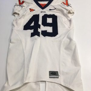 470e23cc0 Game Worn Used Virginia UVA Cavaliers Cavs Football Jersey Nike Size 42  49    ...