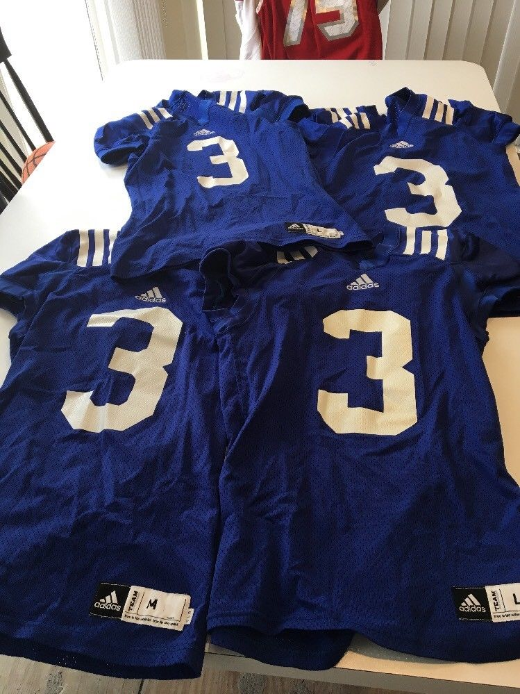 Game Worn Used Josh Rosen UCLA Bruins Football Practice Jersey adidas Size Med