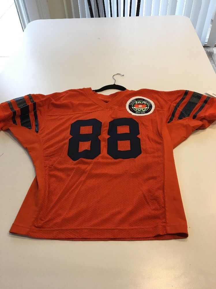 Game Worn Used Clemson Tigers Football Jersey 88 Size 46 Throwback